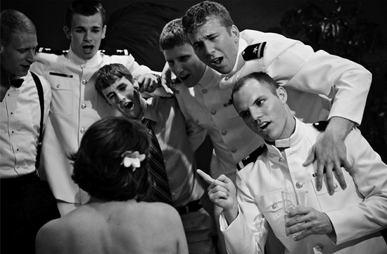 Real weddings with military grooms in uniform- 2