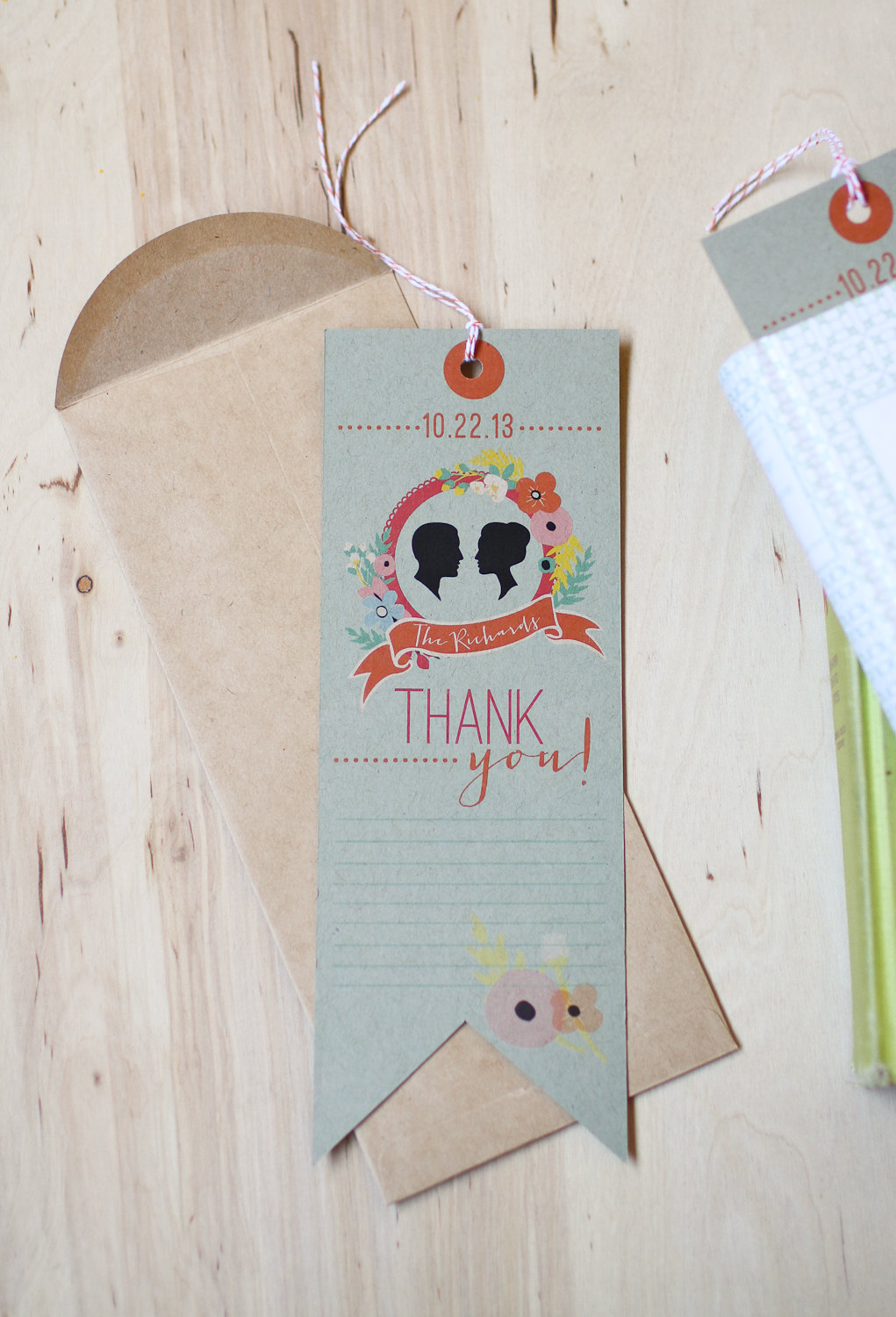 wedding bookmark favor