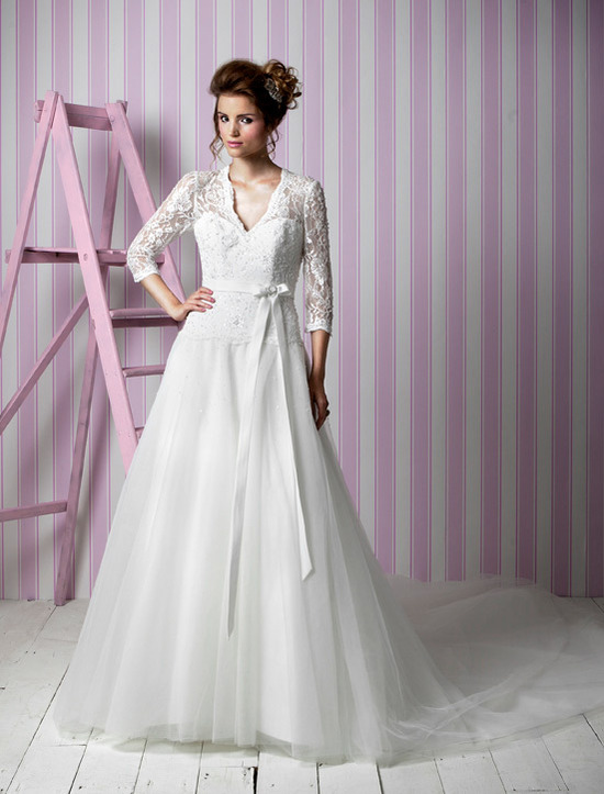 Charlotte Balbier wedding dresses, 2012 bridal gown- kate middleton-inspired