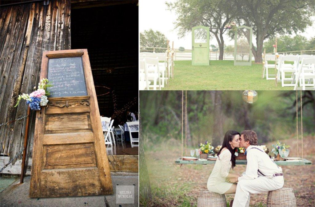 Vintage Wedding Must Do Wedding Door Decor Ideabook By Onewed