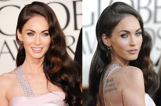 Wedding hairstyle ideas, inspiration from the red carpet- cascading waves