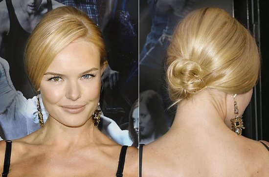 Wedding hairstyle ideas, inspiration from the red carpet- chic chignon