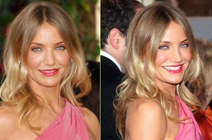 Wedding hairstyle ideas, inspiration from the red carpet- all-down loose waves
