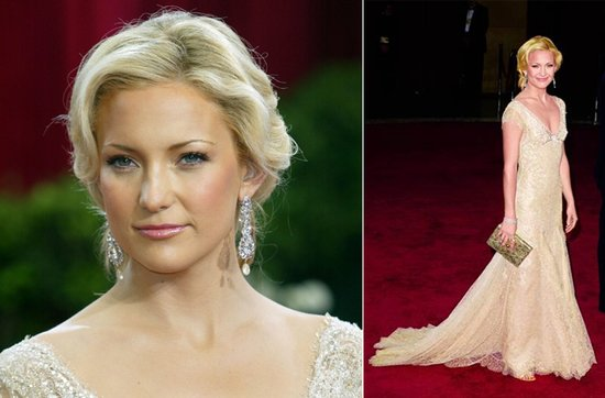 Wedding hairstyle ideas, inspiration from the red carpet- Kate Hudson