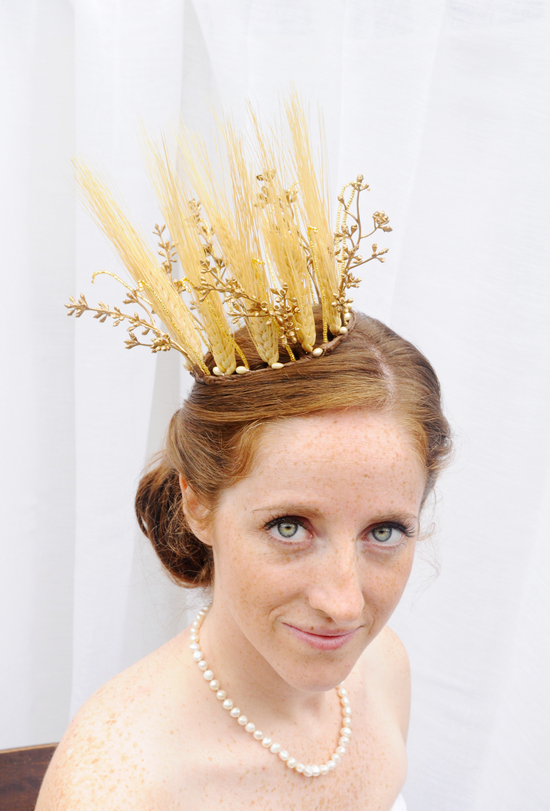 Harvest queen crown