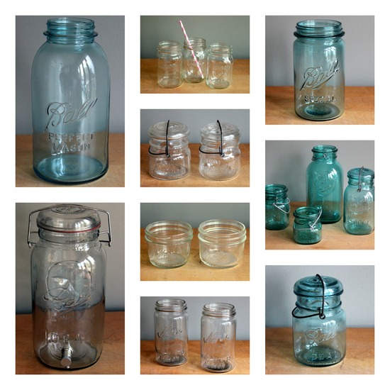 Momentarily Yours Events Kansas City Vintage Rentals Mason Jars Wedding