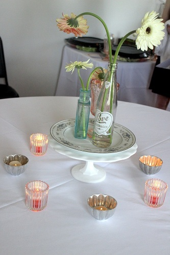 Vintage Rentals Momentarily Yours Events Kansas City Centerpieces