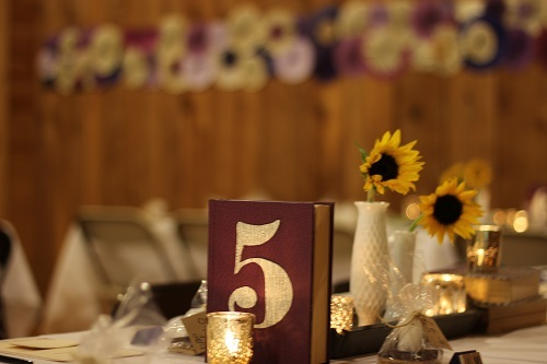 Momentarily Yours Events Kansas City Vintage Rentals Pinwheels Book Wedding Mercury Glass