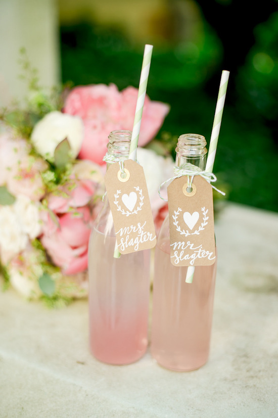 personalized sodas as wedding guest favors