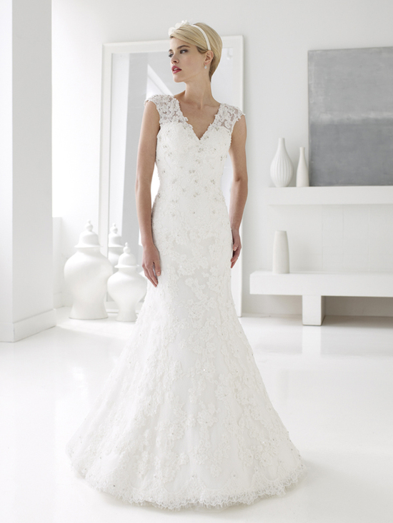 Val Stefani Wedding Dress Lace