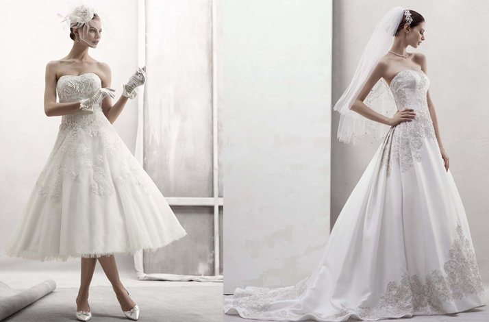 Featured wedding dress designers- Oleg Cassini bridal gown