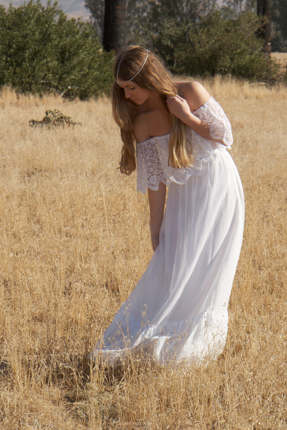 Bohemian-wedding-dress-with-lace-overlay-from-1970s.full