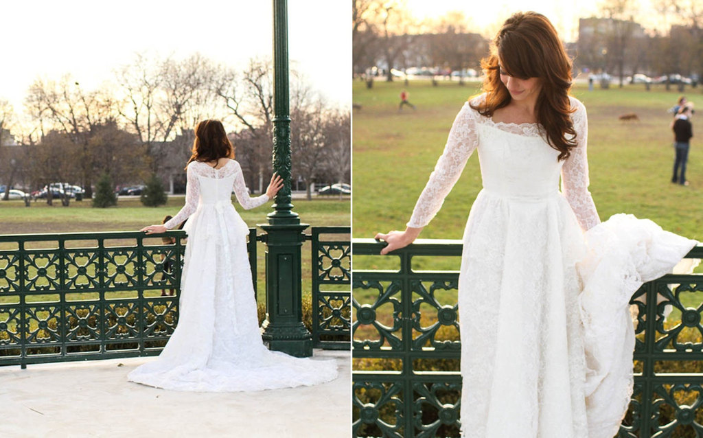 1950s-vintage-wedding-dress-with-lace-sheer-sleeves.full