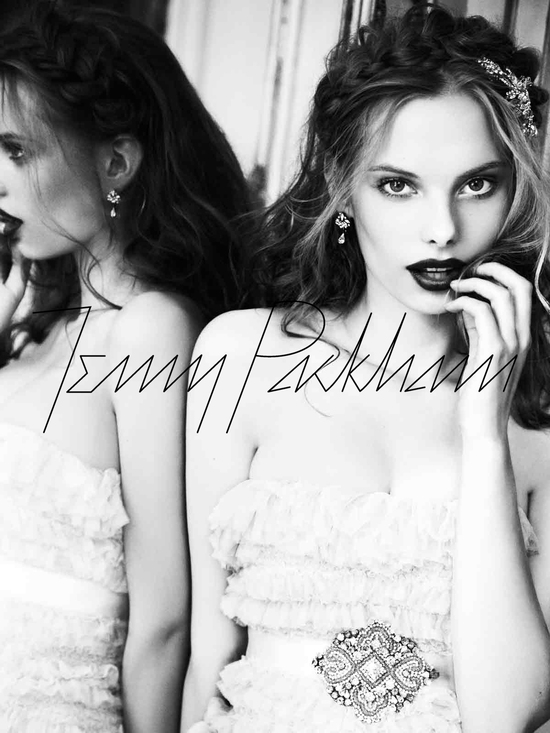 Jenny Packham wedding dress, 2012 bridal gowns, vintage-inpired bride