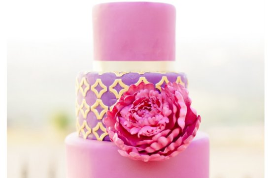 Pretty pink wedding cakes, 12