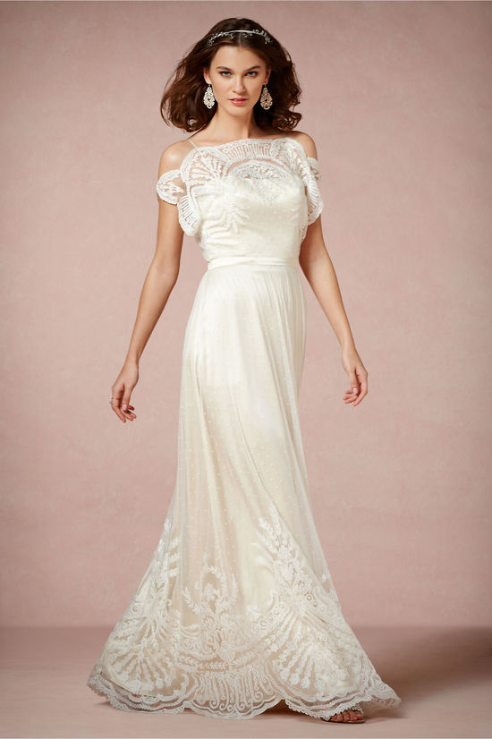 Omelia wedding dress by BHLDN