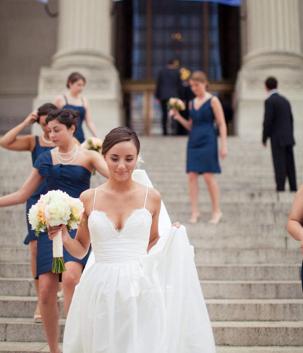 amsale coco wedding dress on classic bride onewedcom