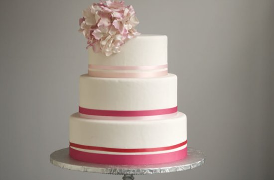 photo of Pretty Pink Wedding Cakes