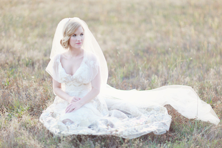 Real-bride-wearing-vintage-inspired-claire-pettibone-wedding-dress.full