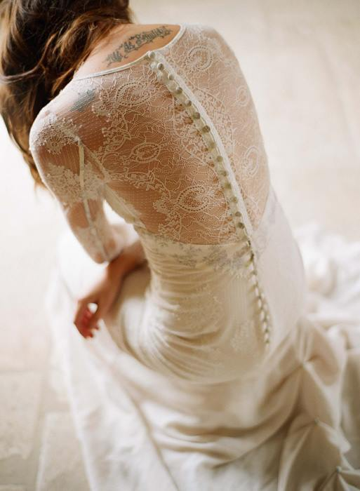 Mademoiselle wedding dress by Claire Pettibone