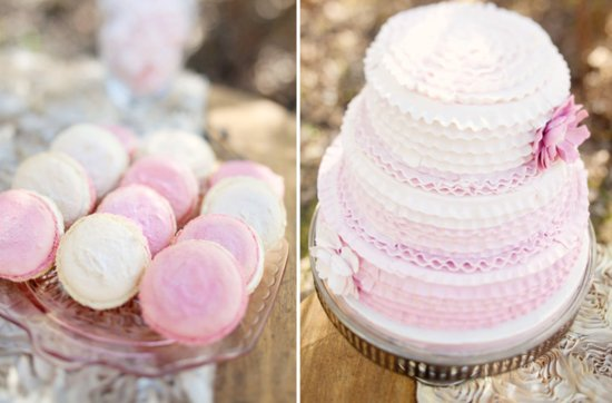 Pretty pink wedding cakes, 7