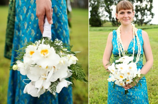 White and yellow bridal bouquet, wedding flowers 11