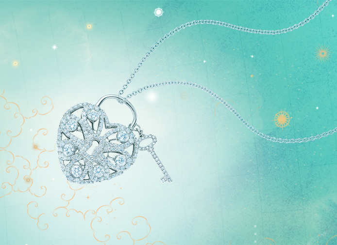Diamond Locket for the Bride