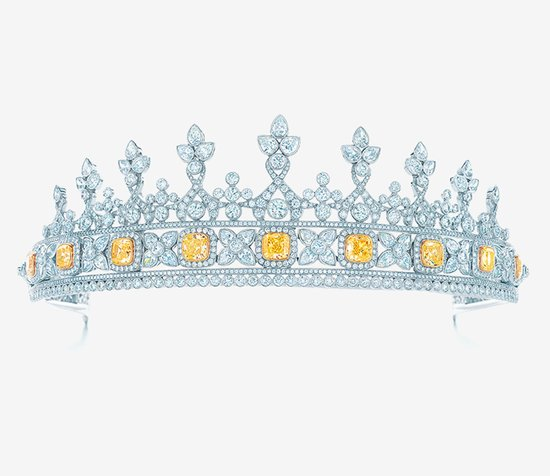 Brilliant Diamond Bridal Crown