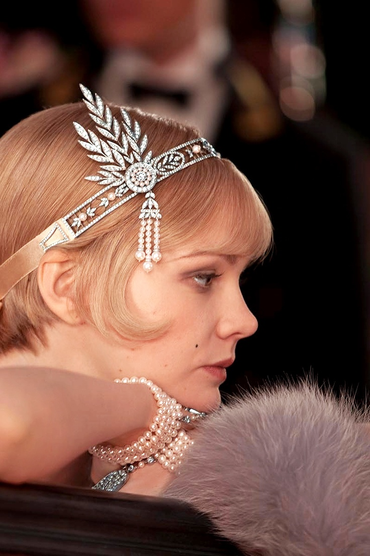 Great Gatsby headpiece by Tiffany and Co   OneWed.com  Great Gatsby he...