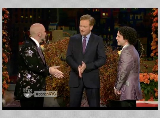 Conan O'Brien officiates same-sex wedding, makes history