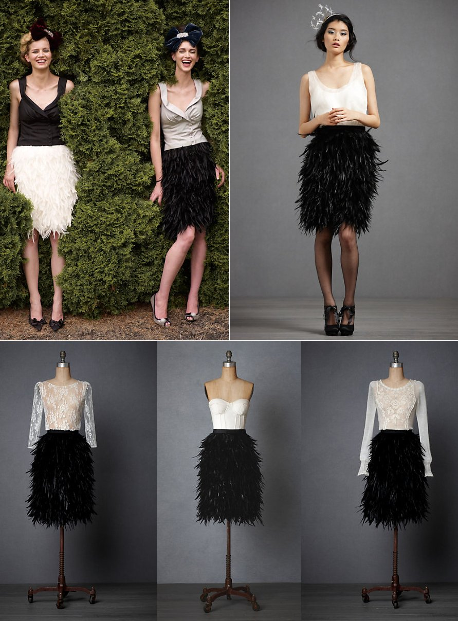 Bhldn-bridesmaid-black-feather-skirt.full