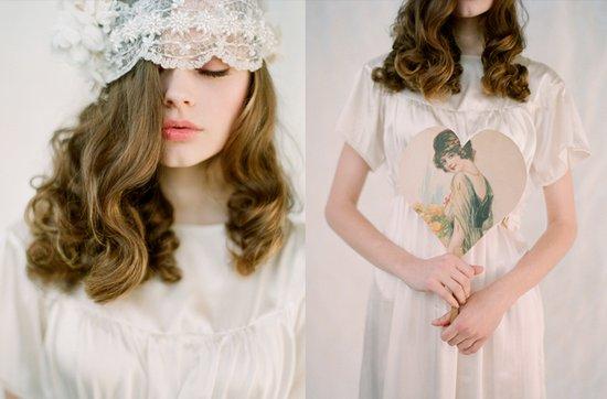 photo of twigs n honey vintage-inspired bridal hair accessories