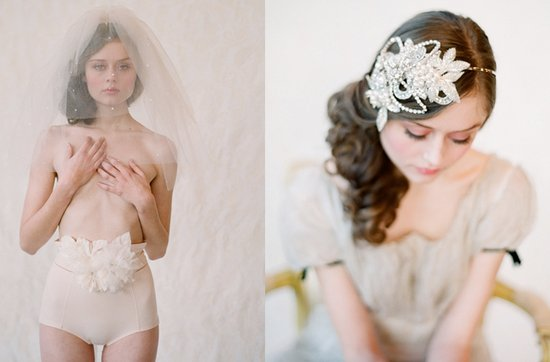photo of Dreamy Twigs & Honey bridal veils + head chic