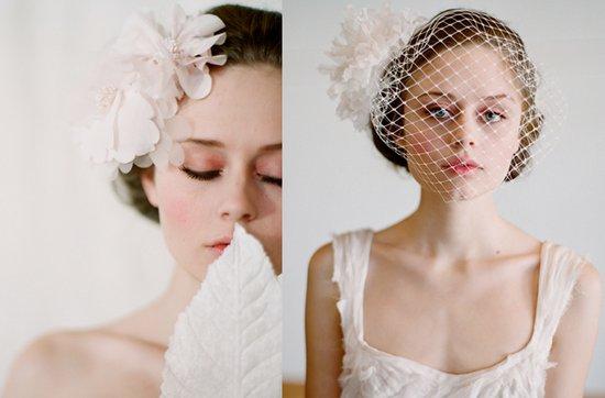 photo of Dreamy Twigs & Honey bridal veils + head chic