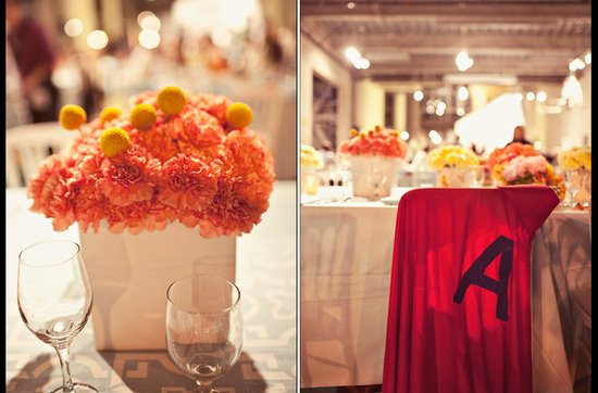 Offbeat wedding theme: superhero wedding ideas, sweetheart tabe