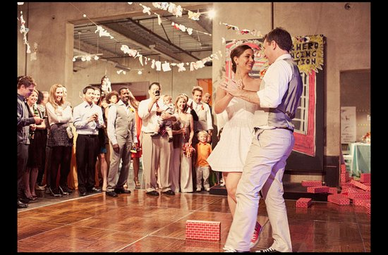 Offbeat wedding theme: superhero wedding ideas, first dance at wedding reception