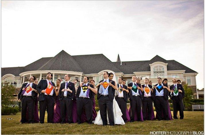 Offbeat Wedding Theme Superhero Ideas 1