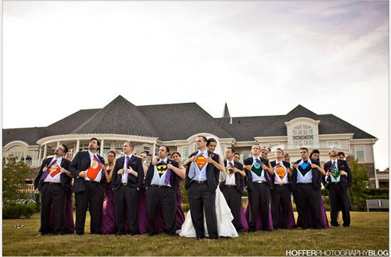 Offbeat wedding theme: superhero wedding ideas, 1