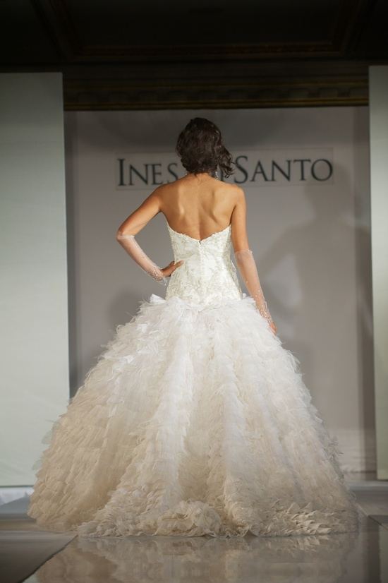 2012 wedding dress trends- feather-like embellishments