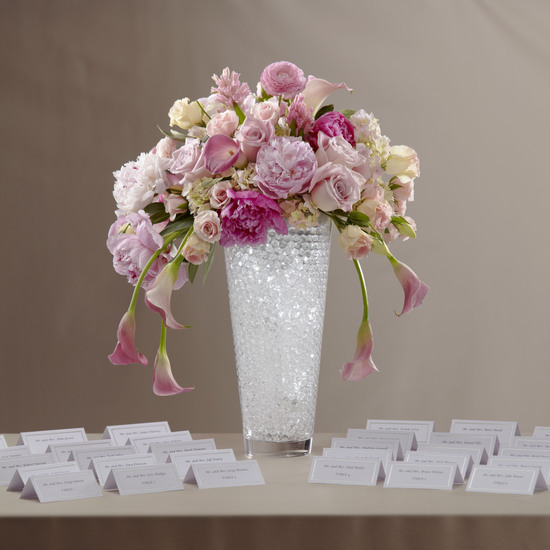 Glam Pink Floral Arrangment