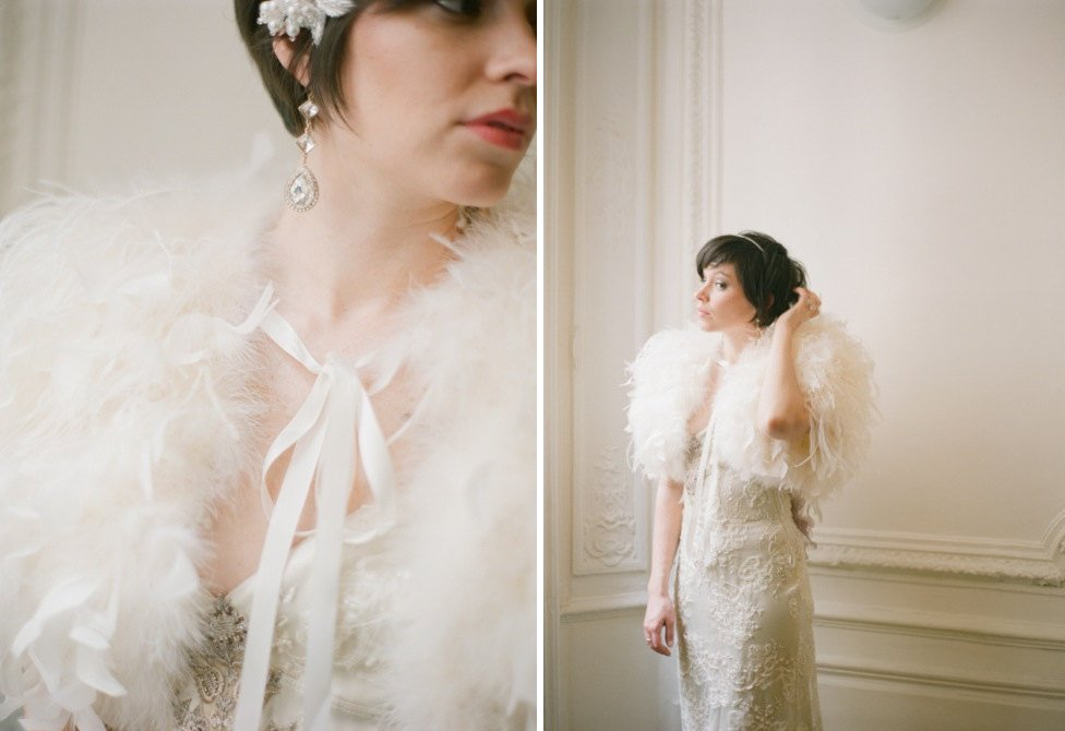 Pale-peach-feather-bridal-cape.full