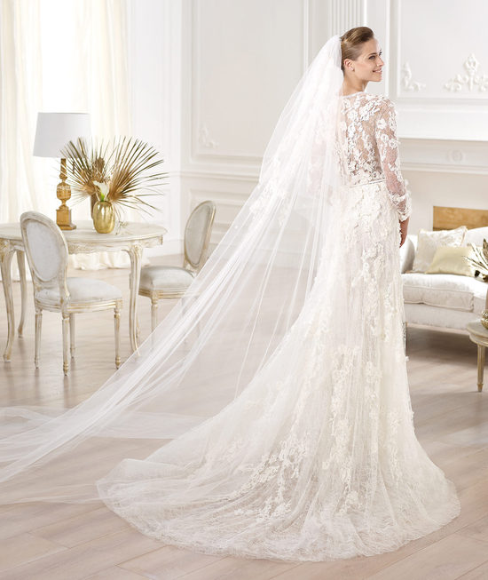 Elie Saab Wedding Dress 2014 Pronovias Bridal Crux