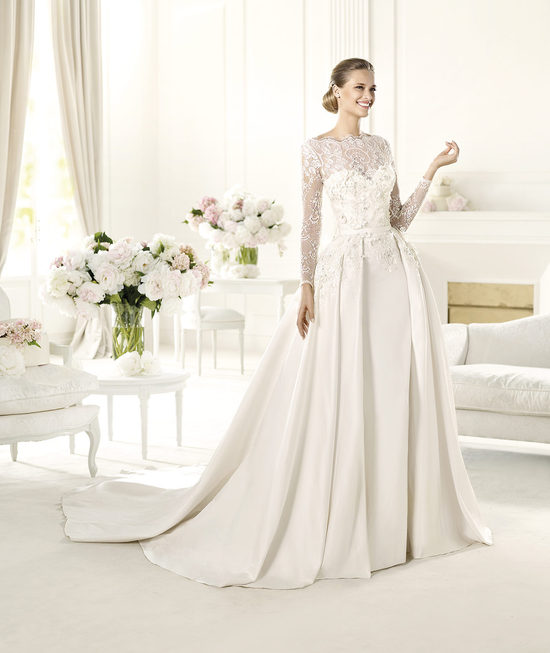 Elie Saab Wedding Dress 2014 Pronovias Bridal Monet