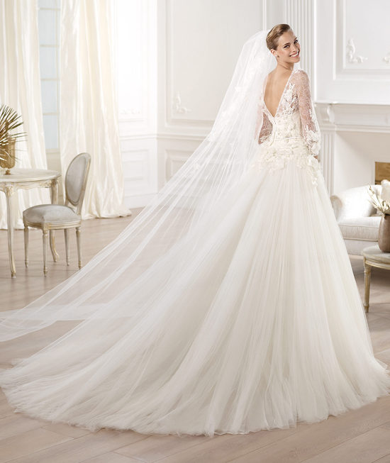 Elie Saab Wedding Dress 2014 Pronovias Bridal Lacerta