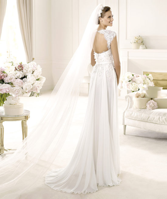 Elie Saab Wedding Dress 2014 Pronovias Bridal Galant