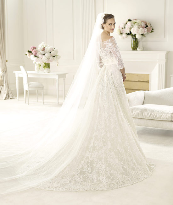 Elie Saab Wedding Dress 2014 Pronovias Bridal Folie