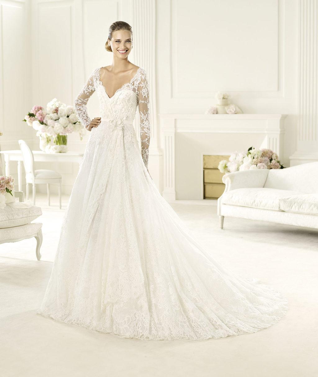 Elie Saab Wedding Dress 2014 Pronovias Bridal Birgit