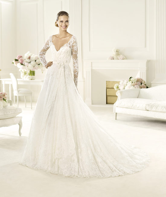 Elie Saab Wedding Dress 2014 Pronovias Bridal Birgit