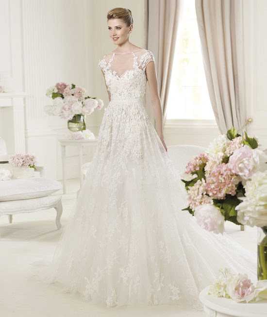 Elie Saab Wedding Dress 2014 Pronovias Bridal Monceau