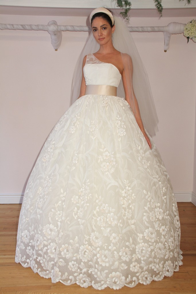Randi Rahm timeless wedding dresses, Fall 2012, 5